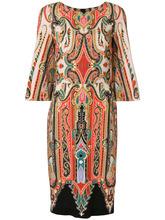 Etro | платье по фигуре с узором Etro | Clouty