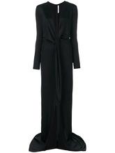 GIVENCHY | вечернее платье с глубоким вырезом Givenchy | Clouty