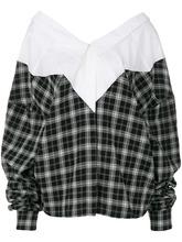 Unravel | деконструированная рубашка в клетку Unravel Project | Clouty