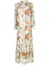 Alberta Ferretti | платье-рубашка с цветочным принтом Alberta Ferretti | Clouty