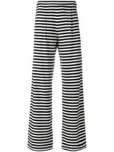 MAX MARA | расклешенные полосатые брюки Max Mara | Clouty