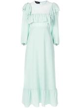 Rochas   платье с оборками  Rochas   Clouty