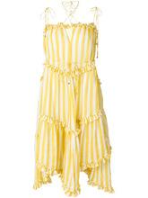 Zimmermann | платье в полоску с рюшами Zimmermann | Clouty