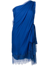 Alberta Ferretti   платье шифт на одно плечо  Alberta Ferretti   Clouty