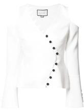 Alexis | блузка с вырезными деталями на плечах Alexis | Clouty