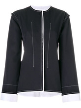 JIL SANDER | пиджак с контрастной строчкой  Jil Sander | Clouty