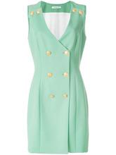 BALMAIN | платье на пуговицах с V-образным вырезом  Pierre Balmain | Clouty