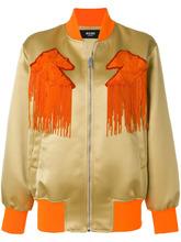 Versus | куртка-бомбер с бахромой Versus | Clouty