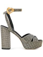 Dolce & Gabbana | босоножки с ремешком на щиколотке | Clouty