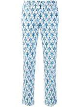 PRADA | брюки с цветочным принтом  Prada | Clouty
