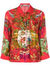 Etro | пижамная рубашка 'Circus' с принтом Etro | Clouty
