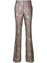 Etro | брюки клеш с принтом пейсли  Etro | Clouty