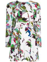 Versus | платье с принтом и вырезом  Versus | Clouty
