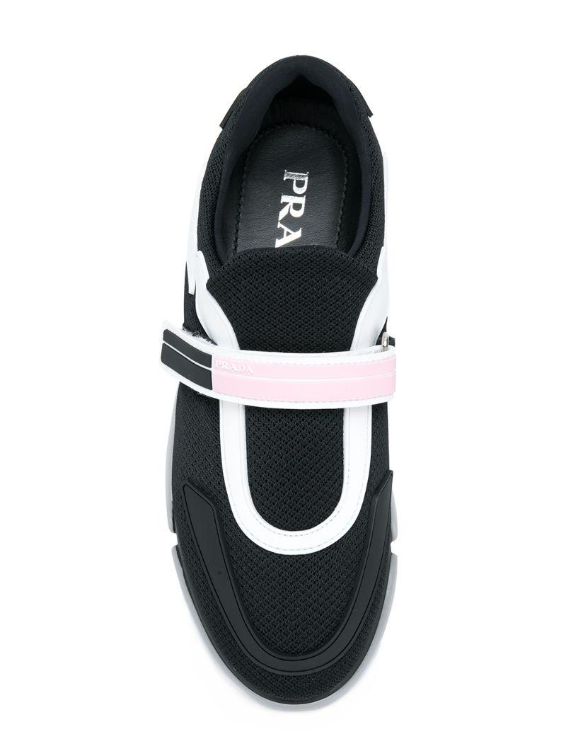 acb8ff67f996 Кроссовки с панельным дизайном Prada CL000019547270 купить за 38525р