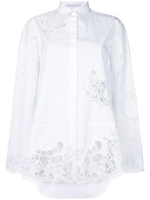 Ermanno Scervino | рубашка с кружевными панелями Ermanno Scervino | Clouty