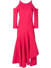 Temperley London | расклешенное платье  с вырезами на плечах Temperley London | Clouty