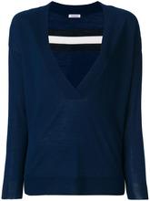 P.A.R.O.S.H. | свитер с глубоким V-образным вырезом  P.A.R.O.S.H. | Clouty