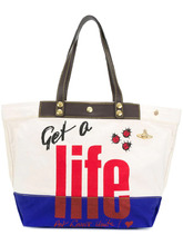 Vivienne Westwood Anglomania | сумка-тоут 'Get A Life' Vivienne Westwood Anglomania | Clouty