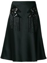 Versus | юбка А-образного силуэта с украшением из пайеток Versus | Clouty