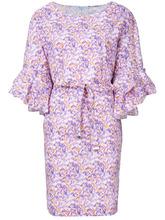 Blumarine | платье с оборкой и поясом  Blumarine | Clouty