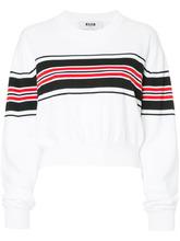 MSGM | укороченные свитер в полоску | Clouty
