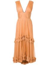 Maria Lucia Hohan | плиссированное платье с оборками Maria Lucia Hohan | Clouty