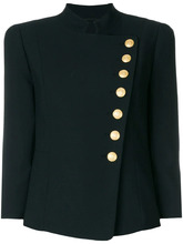 BALMAIN   асимметричный пиджак на пуговицах  Pierre Balmain   Clouty