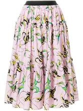 Fausto Puglisi | пышная юбка с цветочным принтом  Fausto Puglisi | Clouty