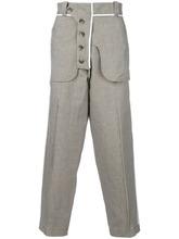 Maison Flaneur | брюки в мелкую ломаную клетку Maison Flaneur | Clouty
