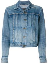 SAINT LAURENT | джинсовая куртка в стиле милитари 'YSL' Saint Laurent | Clouty