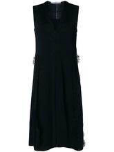 GIVENCHY | платье миди без рукавов с кружевной отделкой  Givenchy | Clouty