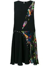 Versus | платье с лоскутным дизайном Versus | Clouty