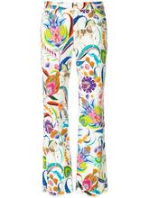 Etro | укороченные джинсы с цветочным принтом Etro | Clouty
