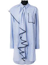 MSGM | длинная рубашка с оборками MSGM | Clouty