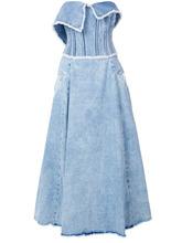 Natasha Zinko | джинсовое платье-бюстье | Clouty