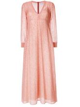 VALENTINO RED | блестящее платье в горох  Red Valentino | Clouty