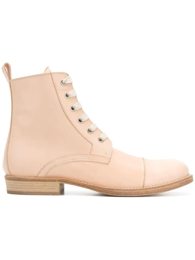 Ann Demeulemeester   ботинки со шнуровкой   Clouty