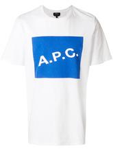 A.P.C. | футболка с логотипом | Clouty