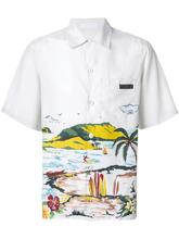 PRADA | рубашка с короткими рукавами 'Hawaiana' | Clouty