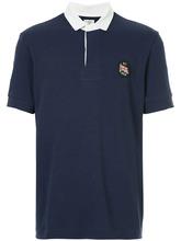Kent & Curwen | рубашка-поло с контрастной отделкой | Clouty