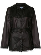 PRADA | куртка с запахом и поясом  Prada | Clouty