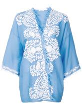 P.A.R.O.S.H. | накидка-кимоно с аппликацией  P.A.R.O.S.H. | Clouty