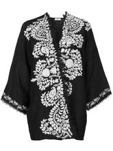 P.A.R.O.S.H. | пиджак-кимоно с контрастной вышивкой  P.A.R.O.S.H. | Clouty