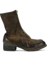 Guidi | ботинки с потертой отделкой Guidi | Clouty