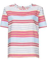 PS By Paul Smith   полосатая блузка с короткими рукавами Ps By Paul Smith   Clouty