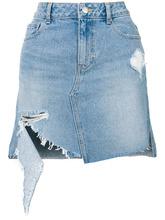 SJYP | джинсовая юбка с потертой отделкой SJYP | Clouty
