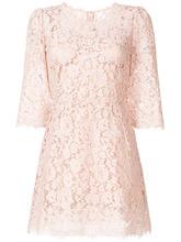Dolce & Gabbana | кружевное мини-платье Dolce & Gabbana | Clouty
