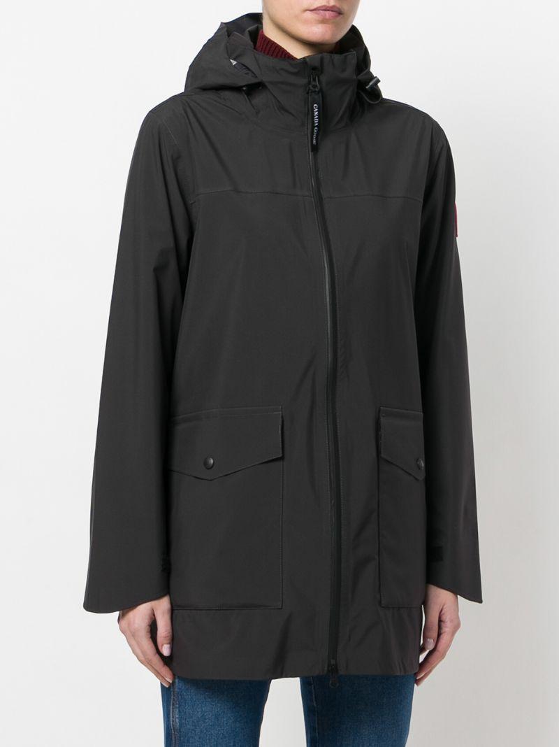CANADA GOOSE | Чёрный Wolfville raincoat Canada Goose | Clouty