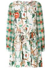 Alberta Ferretti | платье-рубашка с принтом | Clouty