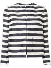 Delpozo | приталенный пиджак в полоску  Delpozo | Clouty